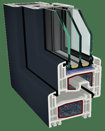 Κουφώματα PVC GEALAN - S 80000 IQ