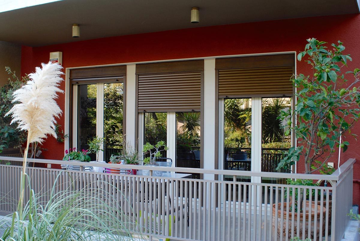Νέα εγκατάσταση κουφωμάτων PVC, στη Φιλοθέη
