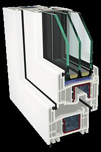Κουφώματα PVC GEALAN - Σύστημα S 8000 IQ